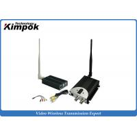 Quality 1.2GHz 3000M Long Distance Analog CCTV Wireless Transmitter With 8 Channels for sale