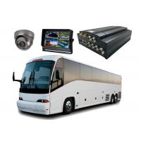 Quality Bus CCTV HDD Mobile DVR 4CH Hard Drive H.264 Compression Format for sale