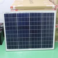 Buy Aluminum 60w Crystalline Solar Panel 21.6v Circuit Voltage Low - Iron Glass at wholesale prices