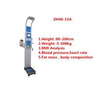 Quality High Accuracy BMI Scale Machine With Blood Pressure / Fat Mass Analysis for sale