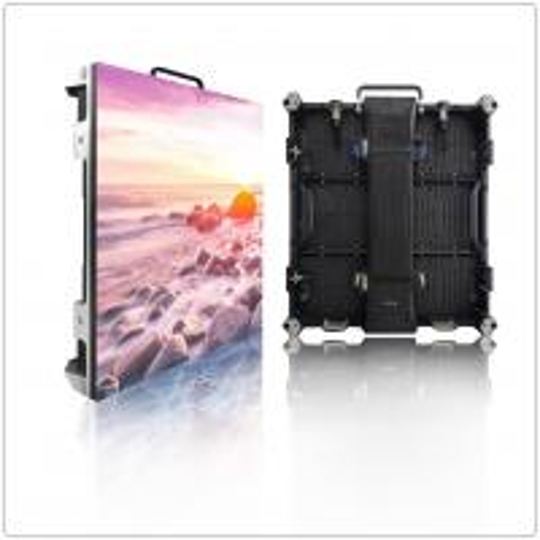 Buy Slim Rental Indoor LED Screen 1R1G1B Customize Pixel 576*576mm Energy Saving at wholesale prices