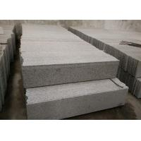 Quality Sesame White Granite Stone Stairs , G655 Granite Outdoor Steps High Hardness for sale