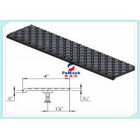 Quality U / T Type 6063 Industrial Aluminum Profile With Non - Slip Stair Nosing Stair Part for sale