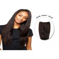 Quality Natural Black Freetress Bulk Hair , 20 inch - 24 inch Straight Hair Extensions for sale