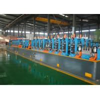 Buy cheap Durable High Precision Tube Mill , ERW Pipe Machine 30-100m/Min Speed from wholesalers