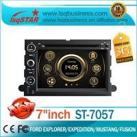 Quality Ford DVD GPS For Ford Fusion 3G Wifi Built-In Blluetooth for sale