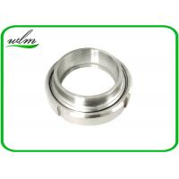 Quality BS4825 PART 5 Sanitary Union Couplings Connection Set Recessed Ring Joint Type for sale