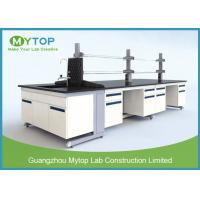 Quality All Steel C Frame Lab Tables And Furnitures With Sink For Cleanroom Anti - Corrosion for sale