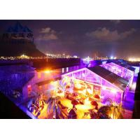 Quality Long Life Span Large Outdoor Party Tents , Marquee Tent Wedding With Optional Accessories for sale