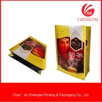 Quality High capacity square bottom Pouch coffee packaging bags with heat sealing for sale