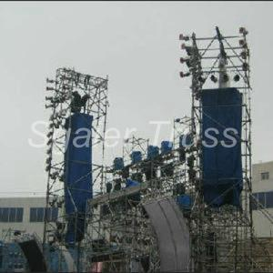 Quality 1.5m Aluminium Mobile Scaffold Speaker Layer Truss for sale