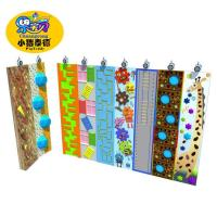 Quality Outdoor Plastic Amusement Park Climbing Wall Holds 1 Years Warranty for sale
