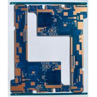 Quality Halogen free Fr4 2 OZ Copper high Frequency PCB with routing outline for sale
