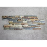 Quality Lightweight Rusty Slate Artificial Culture Stone Cladding Wall Panels Anti Corrosion for sale