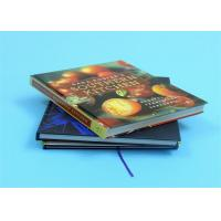 Quality 1800gsm Cook Book Printing Greyboard Coated With 157gsm Glossy Paper Casebond Book for sale