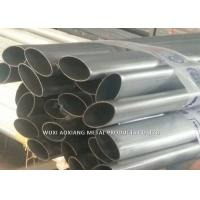 Quality SUS 201 Stainless Steel Welded Tube / 2B BA 6K Elliptical SS Pipe for sale