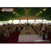 Buy Heavy Duty Structure Recreational Tents 20 X 20 Party Tent With Sides Flame at wholesale prices