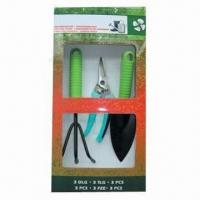 Quality Garden Tool Set, Made of Steel and Plastic for sale