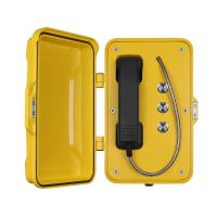 Quality Moisture Resistant Outdoor SIP Phone Aluminum Alloy Material With Emergency Buttons for sale