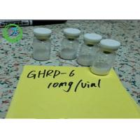 Quality Pharmaceutical 98% min Peptides Ghrp-6 5mg/vial 10mg/vial CAS 87616-84-0 for sale