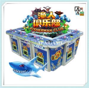 Quality 8P fisherman club arcade ocean hunter fishing season game machine for sale
