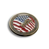 China Creative Custom Promotional Coins , US Military Challenge Coins OEM Available on sale