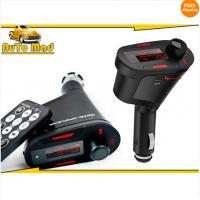 Buy Free Shipping Wireless Car cigarette Mp3 FM Modulator Transmitter USB SD Music Player + Remote at wholesale prices