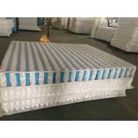 Quality High Carbon Steel Wire Mattress Pocket Spring Unit With Non Woven Fabric Cover for sale
