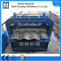 Quality Aluminum Plate Cold Roll Forming Machine Hydraulic Pump 828mm Cover Width for sale