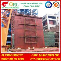 Quality 10T - 1000 Ton CFB Boiler Petrochemical Biomass Industry Superheater Coils High / Low Pressure for sale