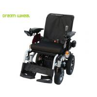 China 4Km - 12Km / H Handicap Carts Outdoor Four Wheel Drive Wheelchair With Recline Seat on sale