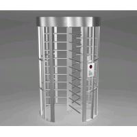 Quality Indoor Anti Corrosion Full Height Barriers Door Revolving With Powder Coating for sale