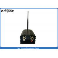 Buy Long Range Security Analog Video Transmission , 2000mw Wireless Av Sender 1.2ghz at wholesale prices