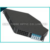Quality Standard 3U Wall Mount Fiber Optic Patch Panel 19Inch LGX Configuration for sale