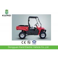 Quality Two Seats 4x4 Side By Side ATV Utility Vehicle 700cc Red Color EPA Approval for sale