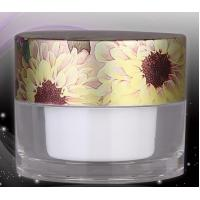 Buy cheap empty 5ml fancy  acrylic cosmetic packing jars for eye care cream from wholesalers