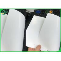 Quality 80 85 90 Gsm One Side Coated Printing Paper , Glossy Art Paper For Cigarette Box Package for sale
