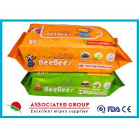 Buy cheap Plant Vera Series  Baby Wet Tissue Big Sticker For Hand & Body Cleaning from wholesalers