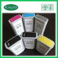 Quality 130ml Replacement Pigment Ink Cartridges For HP72  HPT1100 , BK Y M Color for sale