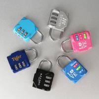 Buy Traveling Luggage Flexible Wire Padlock Suitcase Cable Padlock Heart at wholesale prices