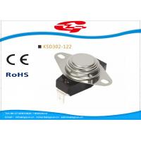 Quality UL VED approval 3/4' Bimetal Snap Disc Thermostat KSD302-122 for home Appliances for sale