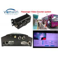 Quality 4CH People video counter HD Mobile DVR / HDD bus management car dvr system for sale