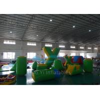 Quality 0.6mm PVC Tarpaulin Inflatable Air Bunkers For Paintball Arena for sale