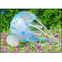 Quality Multi-color Floating Silicone Artificial Jellyfish Decoration For Underwater World for sale
