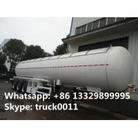 Quality CLW brand 58500Liters bulk lpg gas trailer with sunshield cover for sale, best price propane gas tank trailer for sale for sale