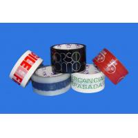 Quality Company Logo on Printed Bopp Tape for sale