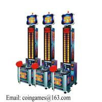 Quality Amusement Equipment King of the Hammer Hit Arcade Coin Operated Lottery Tickets Redemption Games Machine for sale