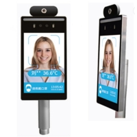 Quality Body Temperature IR 1280 X 960 Facial Recognition Access Control for sale