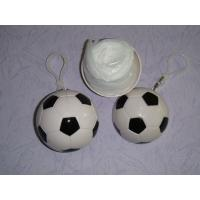 Quality Novelty Football Disposable Raincoat for sale