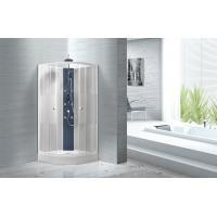 Buy cheap Popular White ABS Tray Corner Shower Stalls , Circle Quadrant Shower Cabin from wholesalers